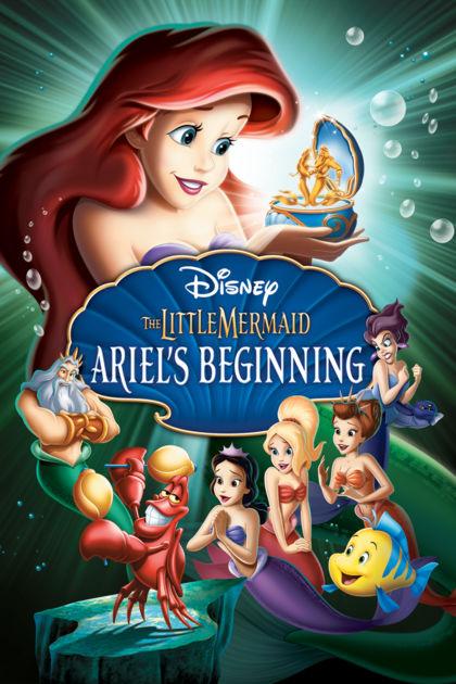 Mica Sirenă – Începuturile lui Ariel – desene animate