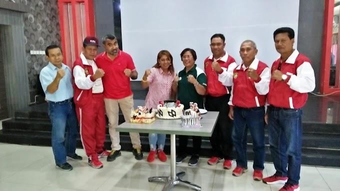"Terima Kembali Team Tinju Indonesia C ""Usai Bertanding"" Pertina NTT Gelar Doa Syukur Bersama"