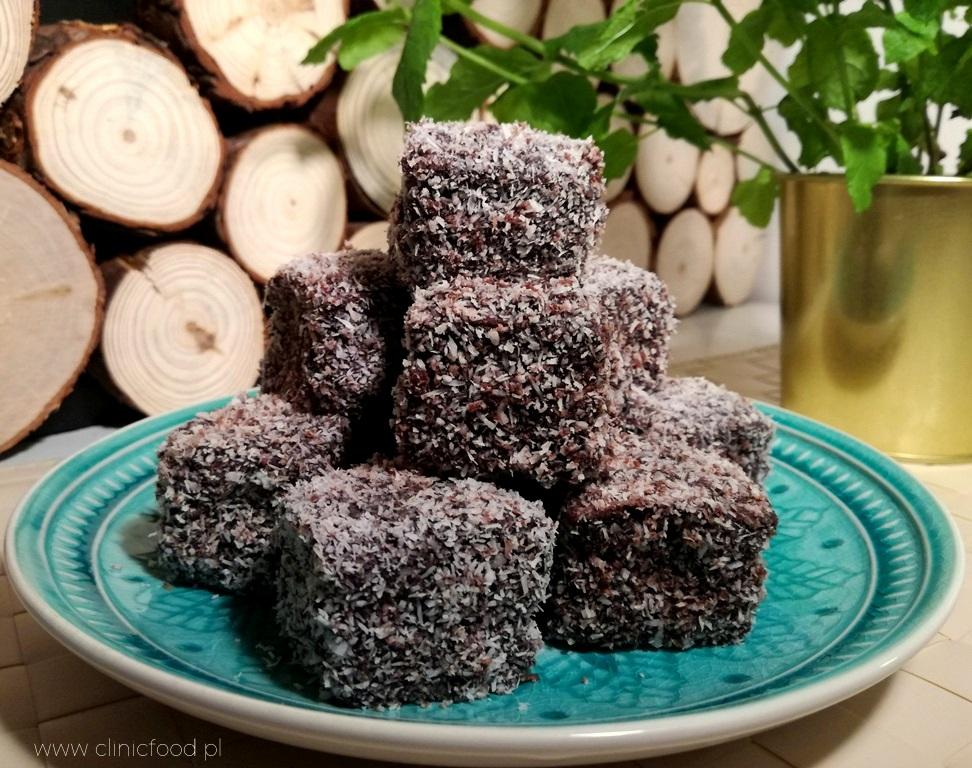 Biszkoptowe kokosanki w czekoladzie