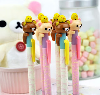 rilakkuma school supplies at CoolPencilCase.com