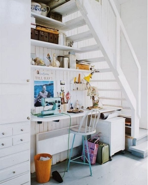 Espaço debaixo da escada - Under the stairs