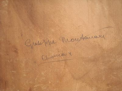 Giuseppe Montanari - dipinto del 1944
