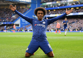 Willian has admitted he remains open to extending his stay at Chelsea