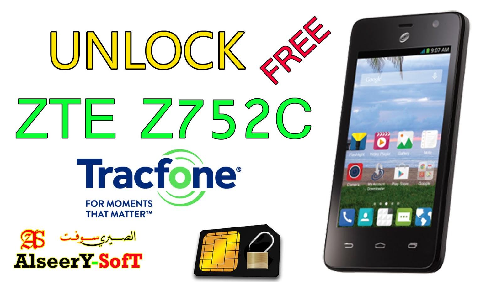 Unlock ZTE Z752C TRACFONE - AlseerY SofT