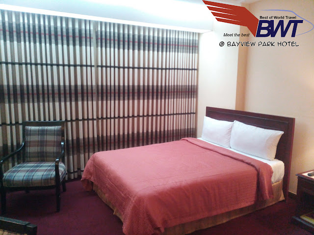 Bayview Park Hotel in Roxas Boulevard Manila review Rooms