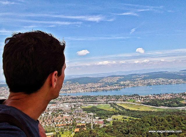 Ponto mais alto de Zurique - Uetliberg