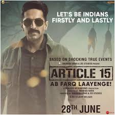 Article 15 (2019) 720p, 1CD, 480p PreDVD Rip x264 AAC
