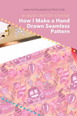 hand drawn pattern seamless