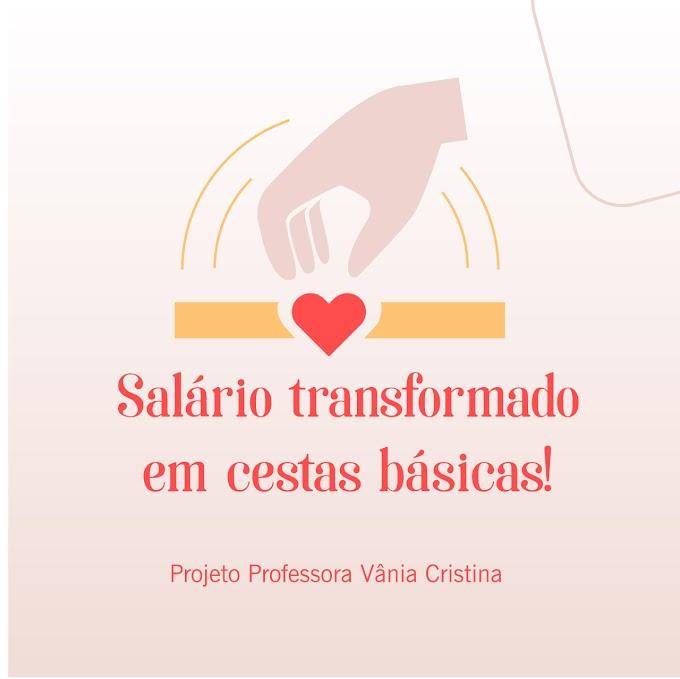 Em grande ato de solidariedade, Vereadora Vânia Cristina faz a doação de 100% do seu salário e transforma em aquisição de cestas básicas e peixes para distribuição a famílias carentes de Chapadinha.