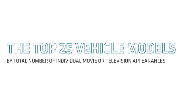 The Top 25 Vehicles Models