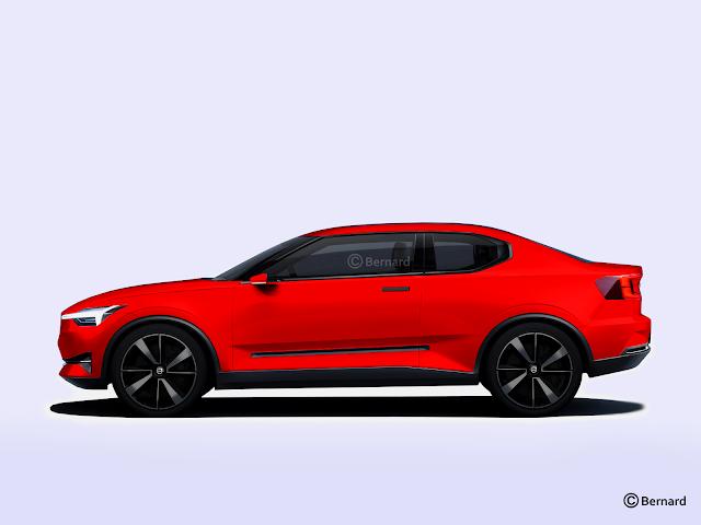 bernard car design 2019 volvo c40. Black Bedroom Furniture Sets. Home Design Ideas