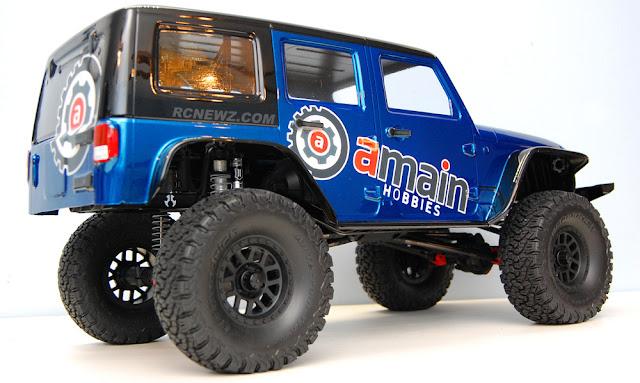 Axial SCX10 II Scale Crawler Build Pics