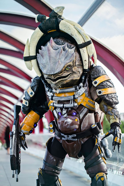 drack cosplay costume masseffect