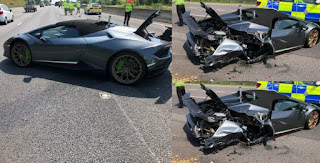 Driver Crashes New £200,000 Lamborghini 20 Ninutes After Picking It Up From Showroom