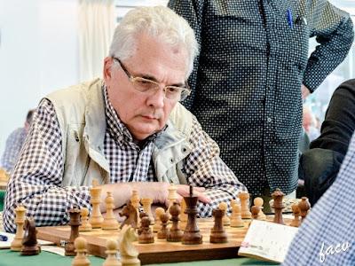 Emili Simón Padrós, campeón del XV Campeonato de España de Ajedrez de Veteranos