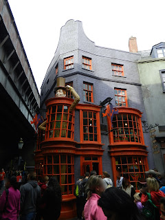 Diagon Alley in Harry Potter at Universal Studios