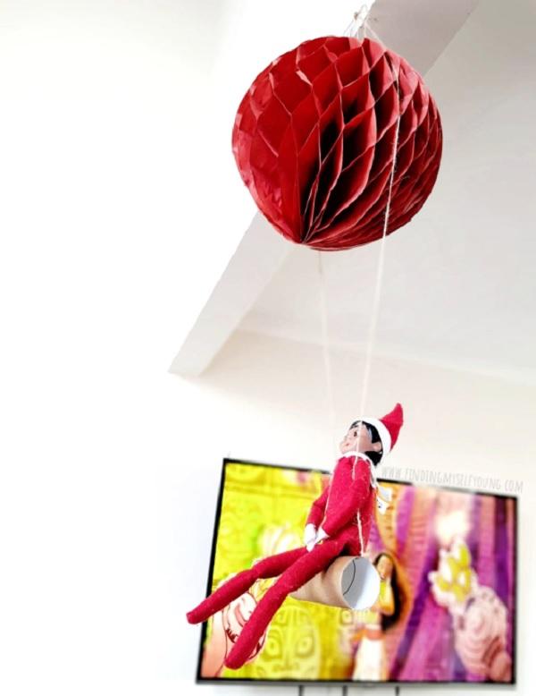 diy elf on the shelf swing