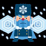 冬将軍のキャラクター