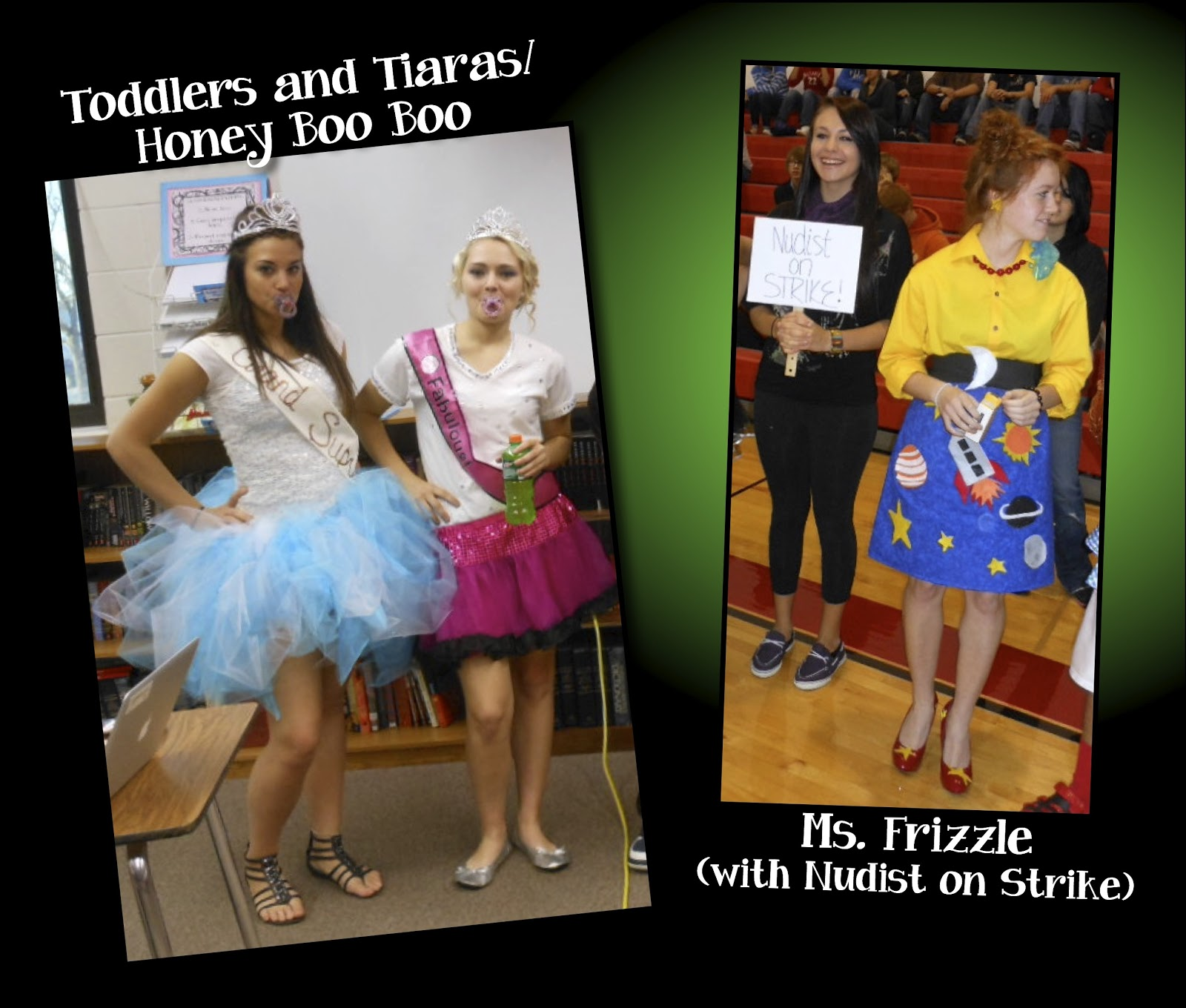 Toddlers and Tiaras - Ms. Frizzle Costumes  sc 1 st  Mrs. Ormanu0027s Classroom & Mrs. Ormanu0027s Classroom: More Halloween Costumes!