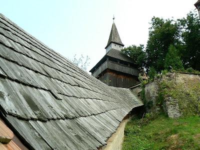 Imagini Romania: biserica fortificata de la Biertan, tunelul