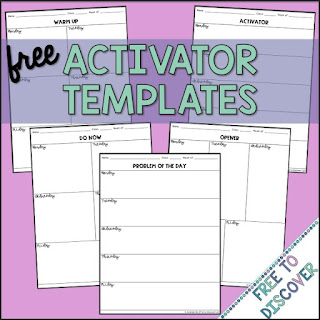 Free Activator Templates