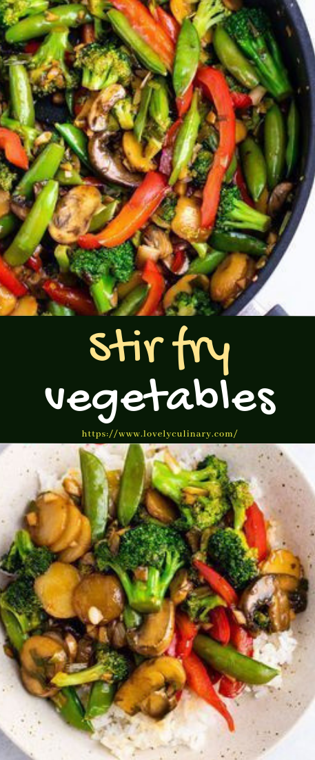 Stir fry vegetables #vegan #recipevegetarian