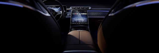 Novo Mercedes-Bens Classe S 2021 - interior