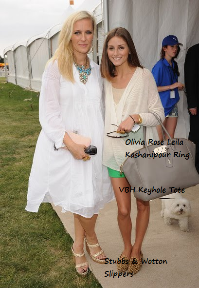 58d47296b3b7b1 Designer Keren Craig and Olivia Palermo attend the Veuve Clicquot Polo  Classic at Governor's Island on June 5, 2011 in New York City.