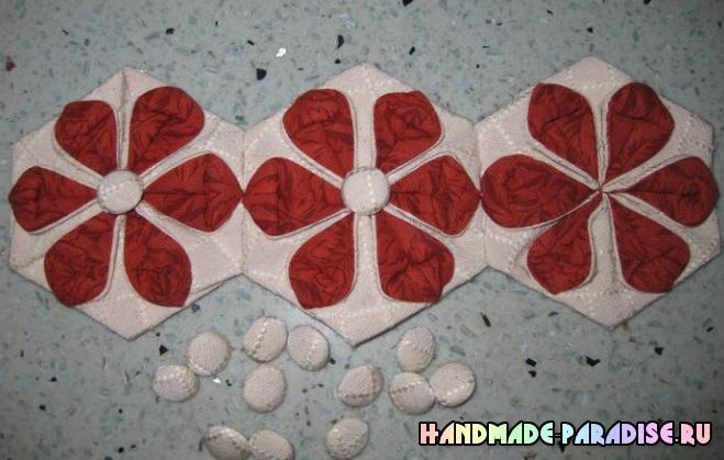 Bolso de verano en el arte del origami