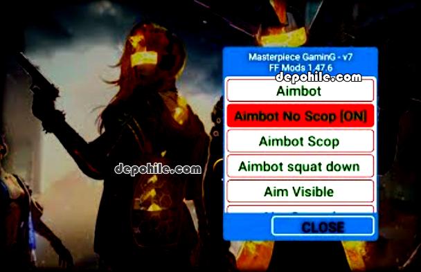 Free Fire 1.47.6 FF Mods v7 En yeni hile Aim, ESP Rootsuz 2020