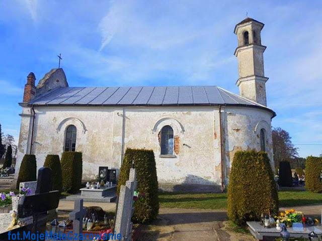 Neogotycka Kaplica św. Rocha w Dalikowie woj. łódzkie - CZYTAJ DALEJ