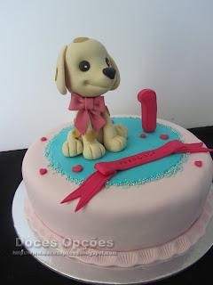 bolo cãozinho