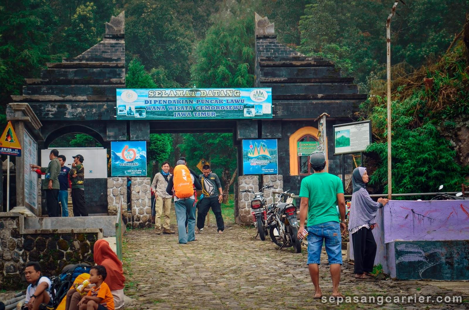 Pendakian Gunung Lawu Via Cemoro Sewu Sepasangcarrier