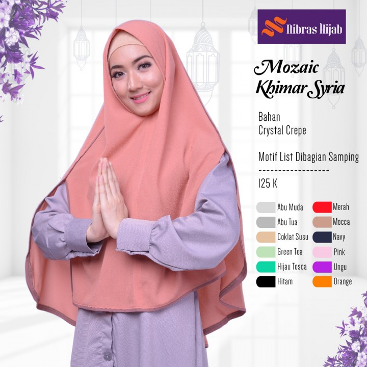 Baju Muslim Nibras Fashion Koleksi Nibras Hijab Terbaru 2018