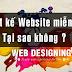 Thiết kế website bán hàng miễn phí đơn giản