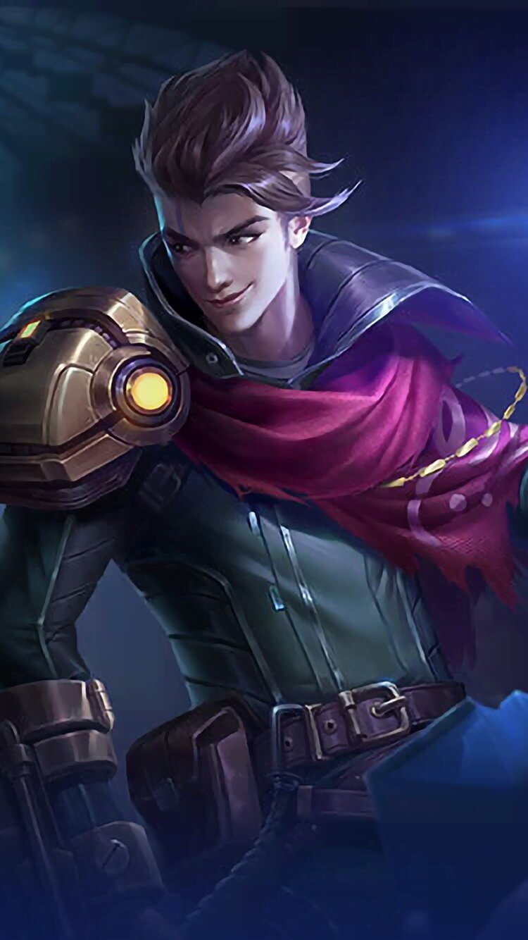 Wallpaper Claude Partners in Crime Skin Mobile Legends HD for Android and iOS