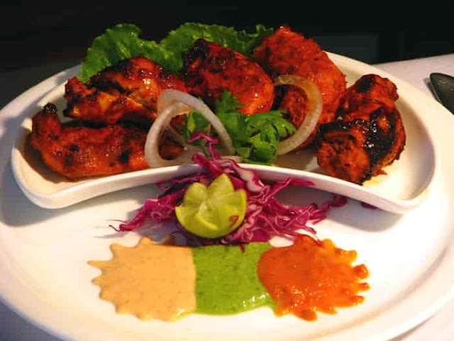 Restaurant style tandoori chicken without oven