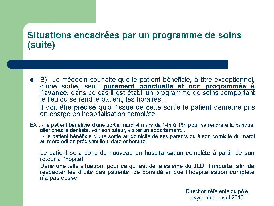 modes hospitalisation psychiatrie