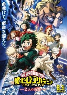 Xem Anime Học viện siêu anh hùng Academia Movie - Boku no Hero Academia the Movie 1: Futari no Hero VietSub