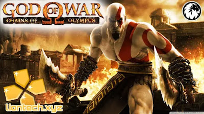 God Of War: Chains Of Olympus للأندروبد apk ppsspp