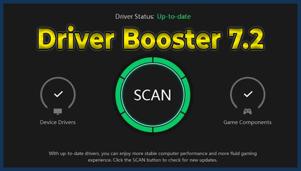 تحميل برنامج Driver Booster 7.2 لتحديث تعريفات حاسوبك