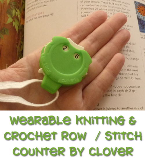 yarn craft review clover crochet stitch counter device