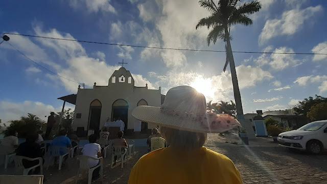 FÉ E DEVOÇÃO: Missa dos Romeiros reúne fiéis em São Joaquim do Monte