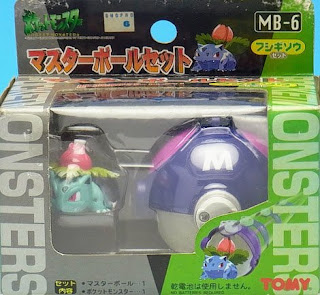 Ivysaur figure Tomy Master Ball Set MB-1