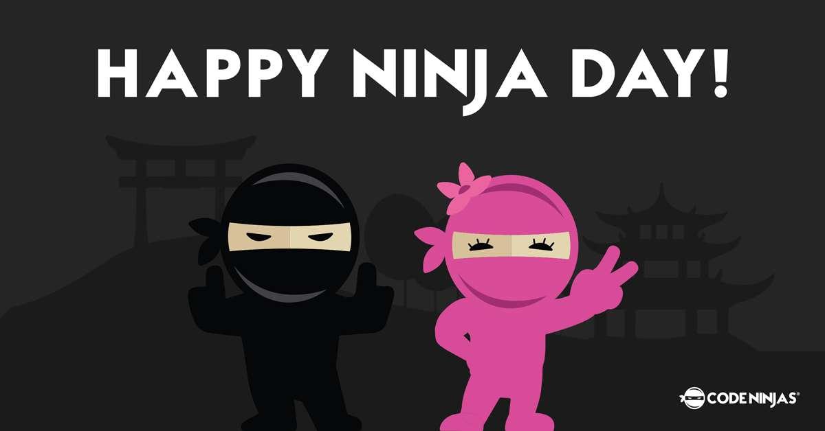 International Ninja Day Wishes Lovely Pics