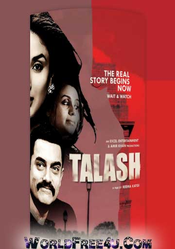 Poster Of Bollywood Movie Talaash (2012) 300MB Compressed Small Size Pc Movie Free Download worldfree4u.com