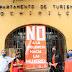 Edificios públicos de Xochimilco se visten de naranja