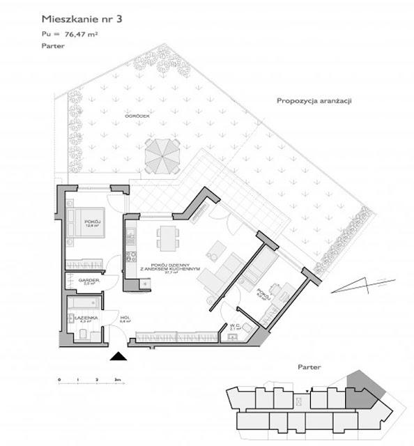 układ mieszkania i jego lokalizacja w budynku