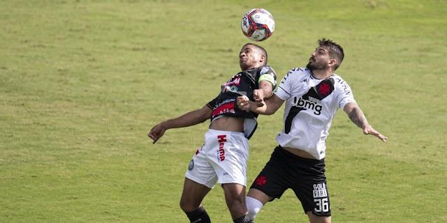 Vasco, Cruzeiro e Botafogo tropeçam na largada da Série B do brasileiro.