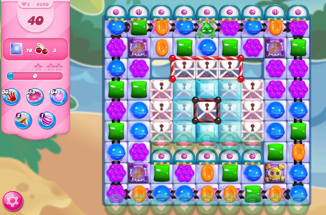 Candy Crush Saga level 8690